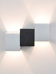 cheap -Modern/Contemporary Flush Mount wall Lights For Metal Wall Light 90-240V 2W
