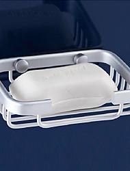 Soap Dish / Aluminum Aluminum /Contemporary