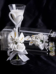povoljno -cvjetna tema svijeća favorizira-komad / set svijeće svadbene svečanosti