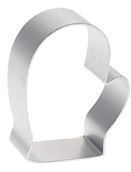 cheap -Christmas Glove Shaped Aluminum Cookie Biscuit Cutter