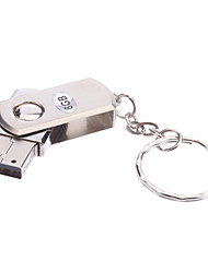 economico -8gb ruotare materiale metallo mini usb pen drive flash