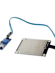 chuva foliar pingos módulo de água da chuva (para arduino) módulo sensor sensibilidade módulo sensor