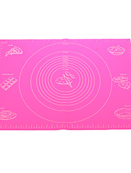 Huge Size Silicone Pad Baking Mat with Marks (Random Color)