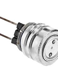 cheap -SENCART 1W 550 lm G4 LED Spotlight 1 leds High Power LED Blue DC 12V AC 220-240V