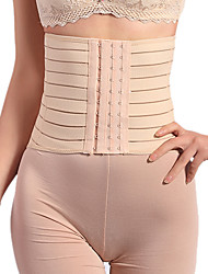 Women's Underbust Corset Nightwear,Retro Solid-Medium Polyester Spandex