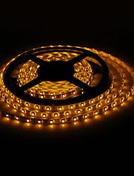 Wasserdicht 5M 18W 300x3528 SMD Yellow Light LED-Streifen-Lampe (12V, IP44)