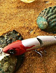 """abordables -1 pcs Señuelos duros Pececillo Cebos Pececillo Señuelos duros Rojo Azul Verde Oscuro g/Onza,110mm mm/4-1/3"""" pulgada,Plástico duroPesca de"""
