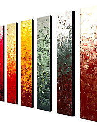 cheap -Hand-Painted Abstract Classic Traditional Oil Painting More than Five Panels