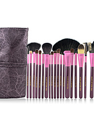 Make-up For You® 20pcs Makeup Brushes set Goat/Pony/Horse/Wool/Bristle Hair  Limits bacteria/Professional Purple Blush/Shadow Brush