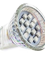GU4(MR11) LED-spotlys MR11 14 leds SMD 3528 Rød Vekselstrøm 220-240