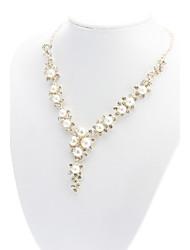 Collana Collane a catena / Collana di perle Gioielli Quotidiano Pietre dei segni Perla / Lega Bianco Regalo