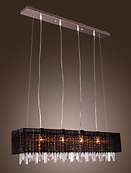 cheap -Pendant Light ,  Modern/Contemporary Island Others Feature for Crystal Metal Dining Room