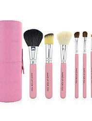 7 Makeup Brushes Set Pony / Goat Hair Limits bacteria Face / Lip / Eye MAKE-UP FOR YOU