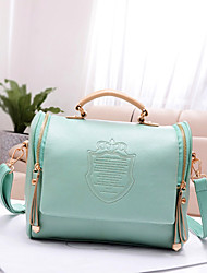 Women Bags All Seasons PU Shoulder Bag Tote with for Casual Red Green Cream Khaki Royal Blue
