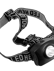 Torce LED Torce frontali LED 50 Lumens 1 Modo AAA Compatto Campeggio/Escursionismo/Speleologia Uso quotidiano Ciclismo