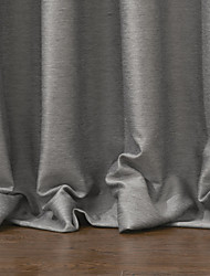 twopages® um painel cortina blecaute sólido moderno