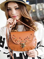 Moda classica maglia a catena Crossbody Bag