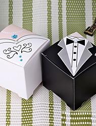 papel de papel favor titular com caixas favoritas - 12 favores de casamento lindos