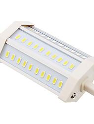 R7S LED-kolbepærer T 30 leds SMD 5630 Kold hvid 1350lm 6000K Vekselstrøm 85-265V