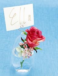 billige -Oval Vase Bordkort Holder