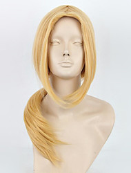 Parrucche Cosplay Naruto Tsunade Oro Medio Anime Parrucche Cosplay 65 CM Tessuno resistente a calore Donna