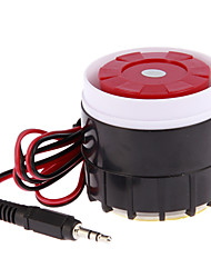billige -NEW Wired Mini Siren for Home Security Alarm System Horn Siren 120dB 12V