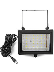 cheap -Solar Power Ultra Bright 30-LED White Light Garden Flood Spot Light Lawn Cool White Lamp (CIS-57129)