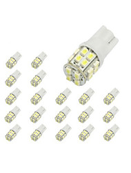 abordables -10 x T10 20 SMD 1210 LED del coche blanco Luces de bulbo 194 168 2825 W5W