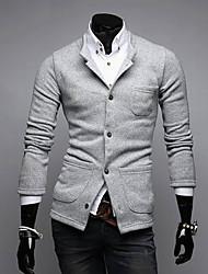 Недорогие -Мужчины всплыло пиджаки Linem костюм