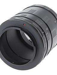 Macro Tubo de Extensão Set Anel adaptador para Nikon Ai AF