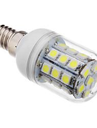 E14 LED-kolbepærer T 30 leds SMD 5050 Kold hvid 390-420lm 6000K Vekselstrøm 220-240V