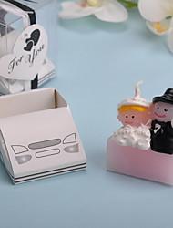 abordables -voiture de mariage bougies 1 pièces un ensemble