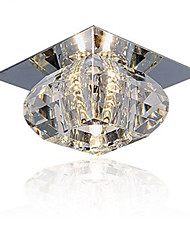 cheap -20W Modern/Contemporary Crystal / Mini Style Flush Mount Living Room / Bedroom / Dining Room