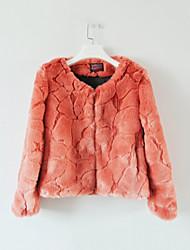 manica della giacca partito / casual senza collo bello lungo (più colori)