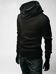 billige -Herre Chic & Moderne Hattetrøje - Ensfarvet