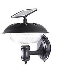 cheap -Outdoor Solar 20-LED Bright White Wall Mount Garden Path Light
