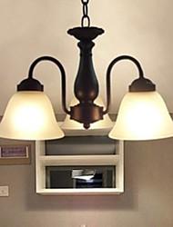 pingente, 3 luz, vidro pintura tradicional branco