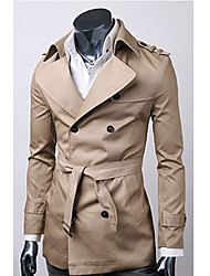 cheap -Men'S Korea Cotton High Quality Trench Coat