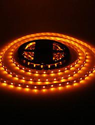 cheap -5M 24W 60x3528SMD 900-1200LM Yellow Light LED Strip Light (DC12V)