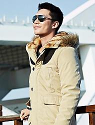 Недорогие -Мужчины толстые пиджаки Хлопок строчки
