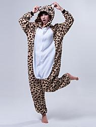 abordables -Kigurumi Pijamas Oso Disfraz Vellón de Coral Kigurumi Leotardo / Pijama Mono Cosplay Festival / Celebración Ropa de Noche de los Animales