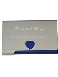 Gift Groomsman Personalized Hollow-out Heart Design Cardcase (More Colors)