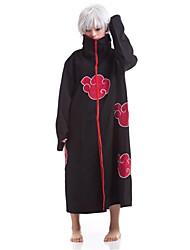 Inspirado por Naruto Sasuke Uchiha Animé Disfraces de cosplay Trajes Cosplay Estampado Capa Para Hombre