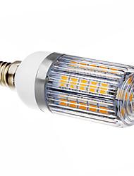 E14 LED-kolbepærer T 36 leds SMD 5050 Varm hvid 420-450lm 3000K Vekselstrøm 220-240V