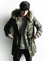 Недорогие -Мужчины шерсти воротник хлопок высокого качества и пиджаки