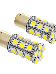cheap -BA15S(1156) Car Cold White 6W SMD 5050 Instrument Light License Plate Light Turn Signal Light