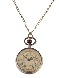 Unisex Vintage Alloy Quartz Analog Pocket Watch with Chain Cool Watches Unique Watches