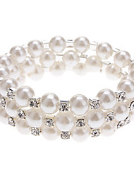 cheap -Women's Wrap Bracelet Unique Design Costume Jewelry Fashion Pearl Imitation Pearl Rhinestone Imitation Diamond Jewelry Jewelry For Party