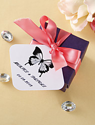 cheap -Personalized square tags - Classic Butterfly (set of 36)