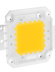 cheap -DIY 80W 6350-6400LM 2400mA 3000-3500K Warm White Light Integrated LED Module (30-36V)